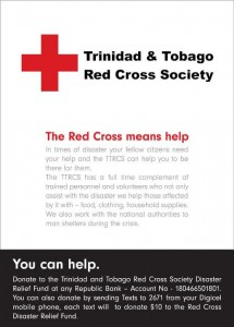Trinidad & Tobago Red Cross Society flood relief efforts